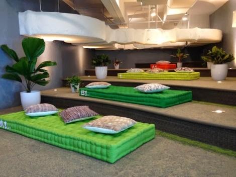 ruang lounge, ruang santai, ruangan lounge, google, google indonesia, kantor google