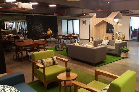 ruang kantor, perkantoran, kantor, coworking space